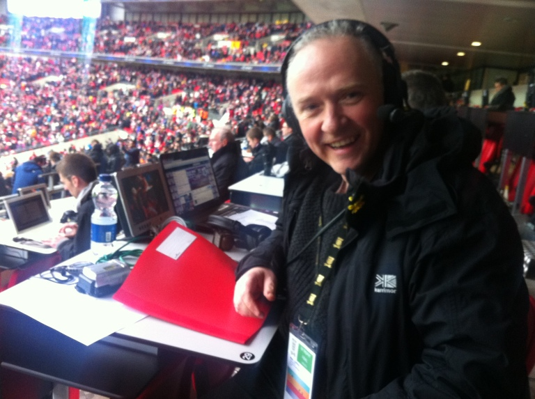 Mark ready to describe the action.