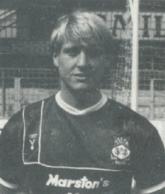 1985: Andy Edwards strikes in a 2-2 draw against Colchester played in front of 1,376 , our smallest New Year's Day home crowd.