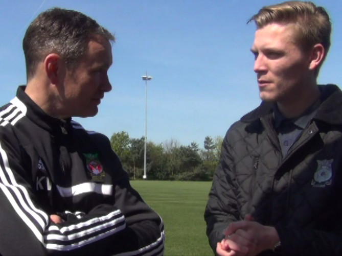 Alex Taylor chats to Kevin Wilkin