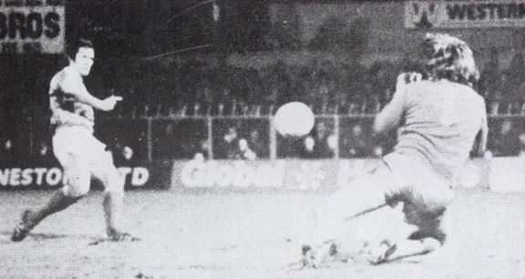Dixie McNeil knocks out FA Cup holders West Ham in 1981.