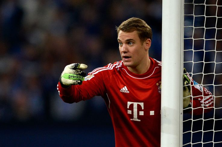 Manuel Neuer wishes he was Rhys Taylor